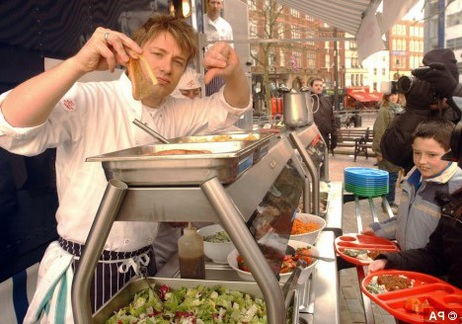 Jamie Oliver: Is His Food Revolution Changing America's Public Schools?
